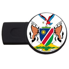 Coat Of Arms Of Namibia Usb Flash Drive Round (2 Gb)  by abbeyz71