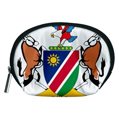 Coat Of Arms Of Namibia Accessory Pouches (medium)  by abbeyz71