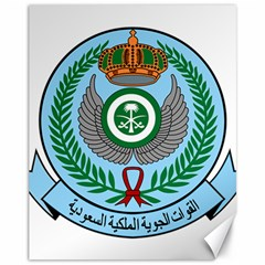 Emblem Of The Royal Saudi Air Force  Canvas 11  X 14   by abbeyz71