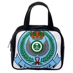 Emblem Of The Royal Saudi Air Force  Classic Handbags (one Side) by abbeyz71