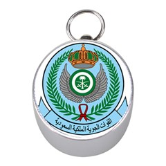 Emblem Of The Royal Saudi Air Force  Mini Silver Compasses by abbeyz71