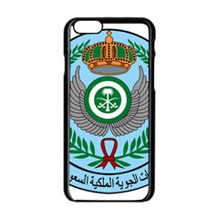 Emblem Of The Royal Saudi Air Force  Apple Iphone 6/6s Black Enamel Case by abbeyz71