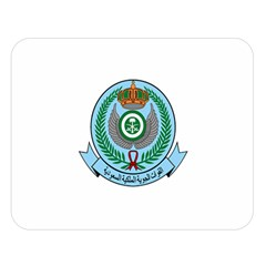 Emblem Of The Royal Saudi Air Force  Double Sided Flano Blanket (large)  by abbeyz71