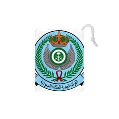 Emblem Of The Royal Saudi Air Force  Drawstring Pouches (xs)