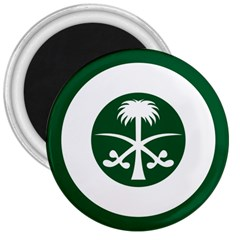 Roundel Of The Royal Saudi Air Force 3  Magnets by abbeyz71