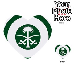 Roundel Of The Royal Saudi Air Force Multi-purpose Cards (heart)