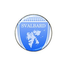 Coat Of Arms Of Svalbard Hat Clip Ball Marker (10 Pack)
