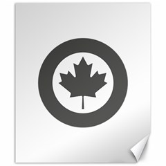 Low Visibility Roundel Of The Royal Canadian Air Force Canvas 20  X 24   by abbeyz71