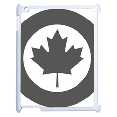 Low Visibility Roundel Of The Royal Canadian Air Force Apple Ipad 2 Case (white) by abbeyz71