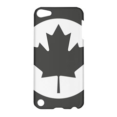 Low Visibility Roundel Of The Royal Canadian Air Force Apple Ipod Touch 5 Hardshell Case by abbeyz71
