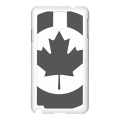 Low Visibility Roundel Of The Royal Canadian Air Force Samsung Galaxy Note 3 N9005 Case (white)