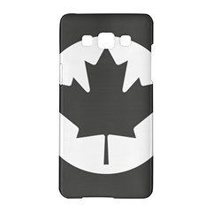 Low Visibility Roundel Of The Royal Canadian Air Force Samsung Galaxy A5 Hardshell Case  by abbeyz71
