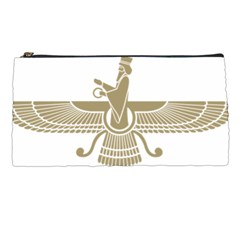 Stylized Faravahar  Pencil Cases by abbeyz71
