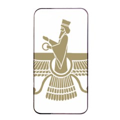 Stylized Faravahar  Apple Iphone 4/4s Seamless Case (black) by abbeyz71