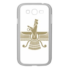Stylized Faravahar  Samsung Galaxy Grand Duos I9082 Case (white) by abbeyz71