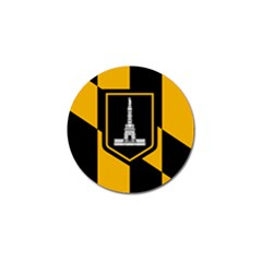 Flag Of Baltimore Golf Ball Marker