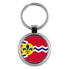 Flag Of St Key Chains (round)