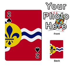 Flag Of St Playing Cards 54 Designs  by abbeyz71