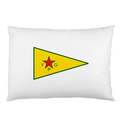 Flag Of The People s Protection Units Pillow Case