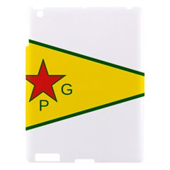 Flag Of The People s Protection Units Apple Ipad 3/4 Hardshell Case