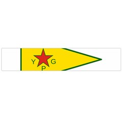 Flag Of The People s Protection Units Flano Scarf (large)