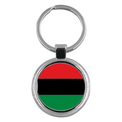 Pan African Flag  Key Chains (round)  by abbeyz71