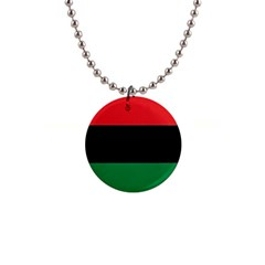 Pan African Flag  Button Necklaces by abbeyz71