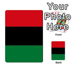 Pan African Flag  Multi Purpose Cards (rectangle)  by abbeyz71