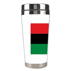 Pan African Flag  Stainless Steel Travel Tumblers by abbeyz71