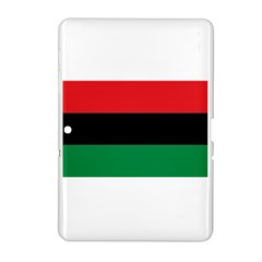 Pan African Flag  Samsung Galaxy Tab 2 (10 1 ) P5100 Hardshell Case  by abbeyz71