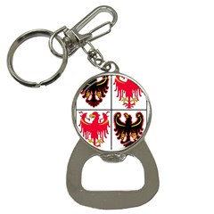 Coat Of Arms Of Trentino Alto Adige Sudtirol Region Of Italy Bottle Opener Key Chains by abbeyz71