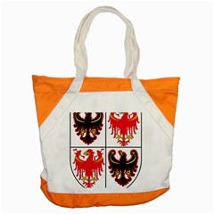 Coat Of Arms Of Trentino Alto Adige Sudtirol Region Of Italy Accent Tote Bag by abbeyz71