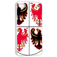 Coat Of Arms Of Trentino Alto Adige Sudtirol Region Of Italy Apple Iphone 4/4s Seamless Case (white)