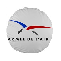 Logo Of The French Air Force  Standard 15  Premium Round Cushions