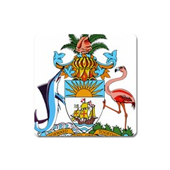 Coat Of Arms Of The Bahamas Square Magnet by abbeyz71