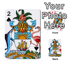 Coat Of Arms Of The Bahamas Playing Cards 54 Designs