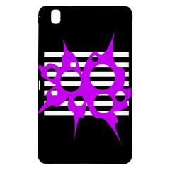 Purple Abstraction Samsung Galaxy Tab Pro 8 4 Hardshell Case by Valentinaart