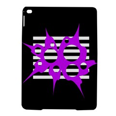Purple Abstraction Ipad Air 2 Hardshell Cases by Valentinaart