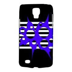 Blue Abstract Design Galaxy S4 Active by Valentinaart