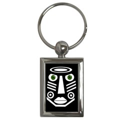 Mask Key Chains (rectangle)  by Valentinaart