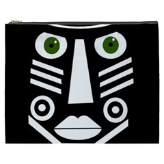 Mask Cosmetic Bag (xxxl)  by Valentinaart