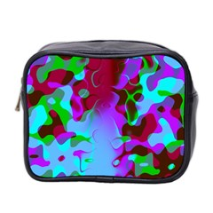 Abstract Colorsplash Mini Travel Toiletry Bag (two Sides) by tjustleft