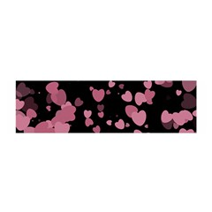 Pink Love Satin Scarf (oblong) by TRENDYcouture