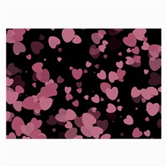 Pink Love Large Glasses Cloth by TRENDYcouture