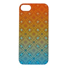 Ombre Fire And Water Pattern Apple Iphone 5s/ Se Hardshell Case by TanyaDraws