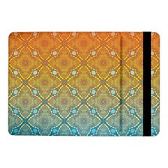 Ombre Fire And Water Pattern Samsung Galaxy Tab Pro 10 1  Flip Case by TanyaDraws