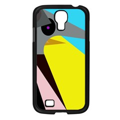 Angry Bird Samsung Galaxy S4 I9500/ I9505 Case (black) by Valentinaart