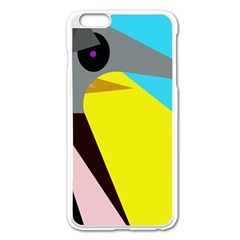Angry Bird Apple Iphone 6 Plus/6s Plus Enamel White Case by Valentinaart
