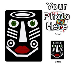 African Mask Multi Purpose Cards (rectangle)  by Valentinaart