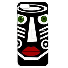 African Mask Apple Iphone 5 Hardshell Case With Stand by Valentinaart